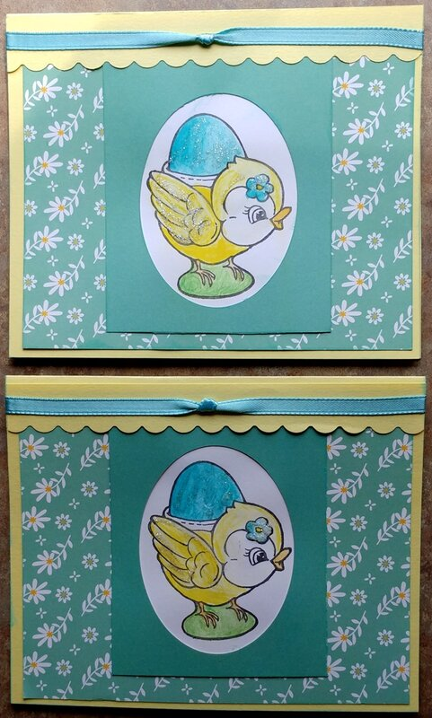 2020 Easter Cards 1 & @