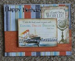 Birthday card for DGS