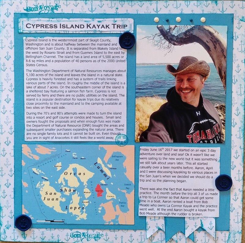 Cypress Island Kayak Trip