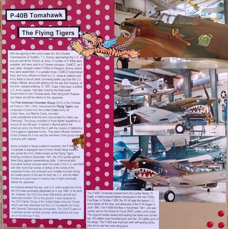 P-40B Tomahawk  The Flying Tigers