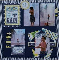 Live Life Dancing in the Rain