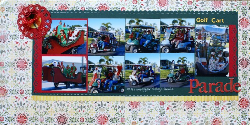 Golf Cart Parade 2014