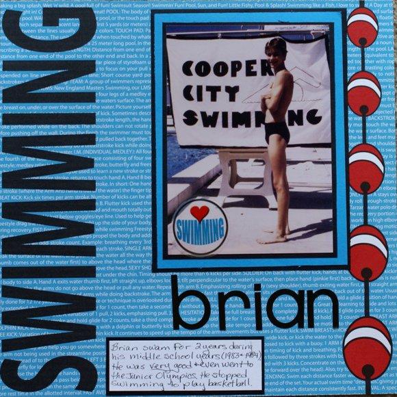 Swimming - Brian