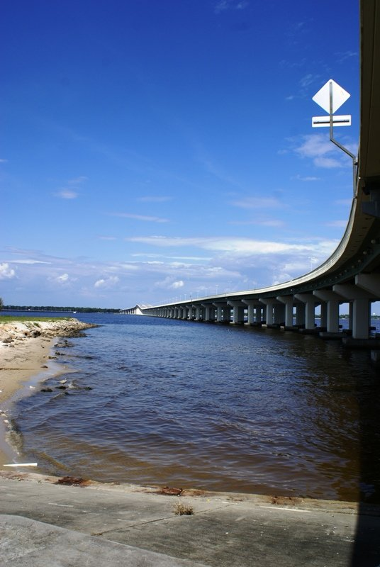 Bridge from Biloxi to Ocean Springs, MS