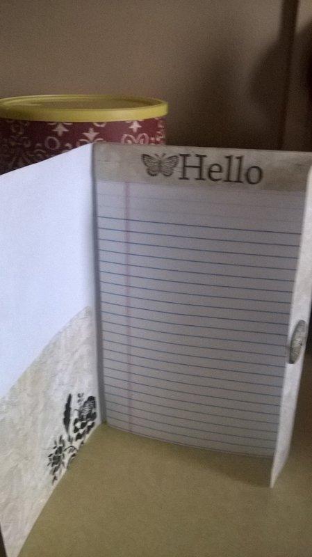 Inside of Notepad