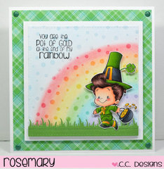 You Are the Pot of Gold...by Rosemary for CC Designs
