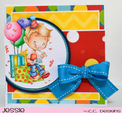 Clove's Cake card by Jessie for CC Designs