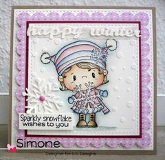 Happy Winter by CC Designs Designer, Simone