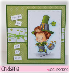 You're My Pot of Gold by Christine for CC Designs