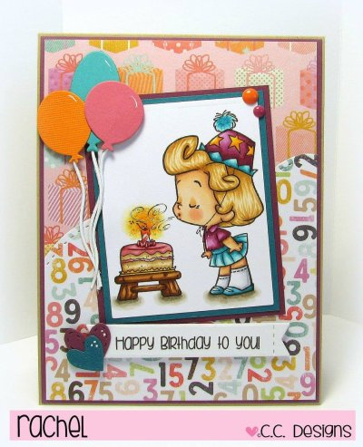 Happy Birthday to You by Rachel for CC Designs
