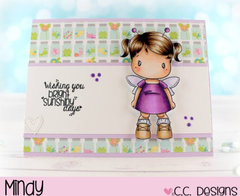 Wishing You Bright Sunshiny Days by Mindy for CC Designs