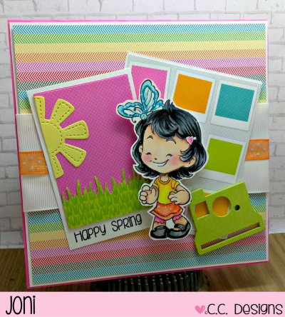 Happy Spring by Joni for CC Designs
