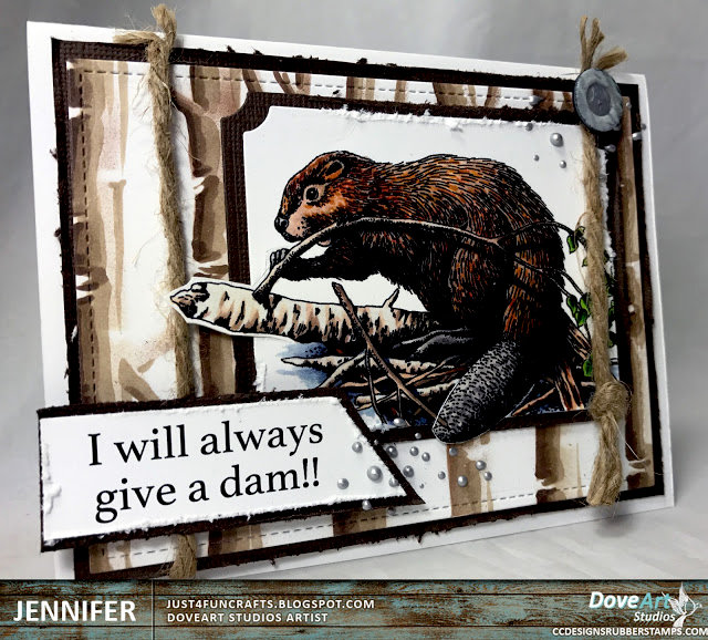 I will always give a damn!! by Jennifer for DoveArt