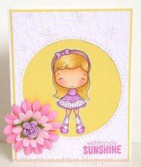 Olivia's Happy Day Card by DT Member Eva
