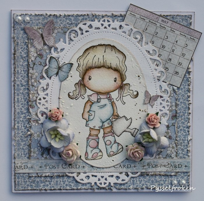 Watering Can Heidi Card by DT Member Frida