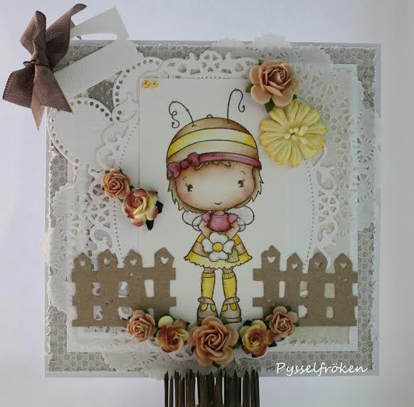 Bee Olivia Card by DT Member Frida
