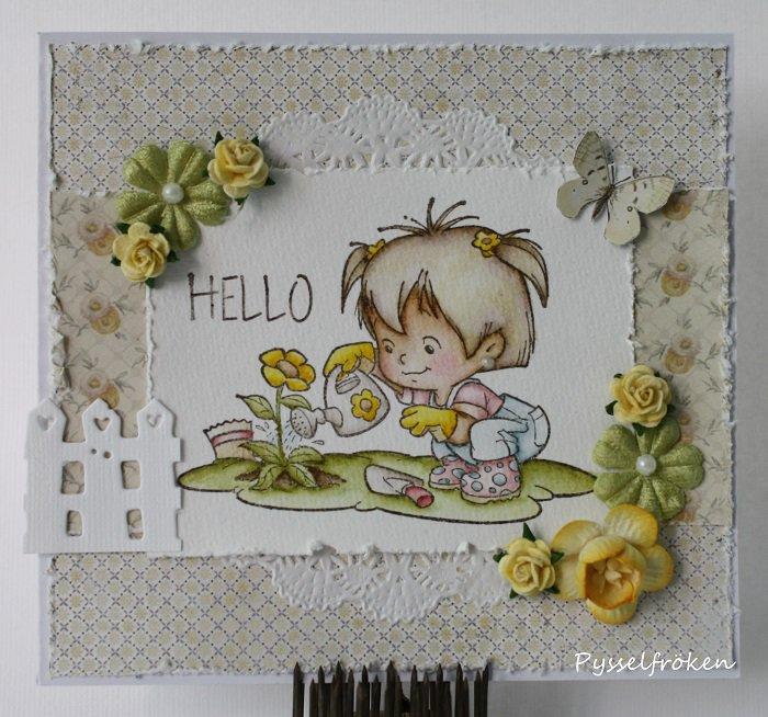 Garden Twila Card by DT Member Frida