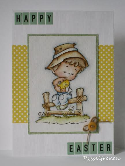 Sweet Chick Card by DT Member Frida