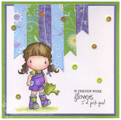 Watering Can Heidi Card by DT Member Jay Jay