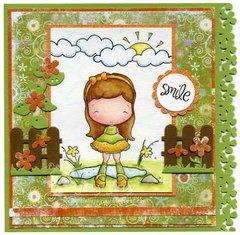 Olivia's Happy Day Card by DT Member Jay Jay
