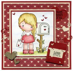 Love Letter Lucy, Mailbox Card by DT Member JayJay