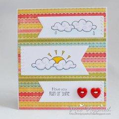 Cloudy Skies Card by DT Member Mae