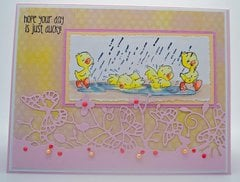 Duckies Card by DT Member Shelby