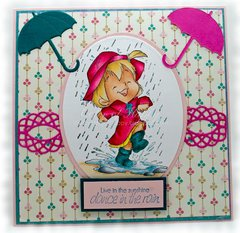 Puddle Jumping Card by DT Member Shelby