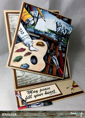 Beautiful Inspiration featuring the new DoveArt Studios Collection from CC Designs