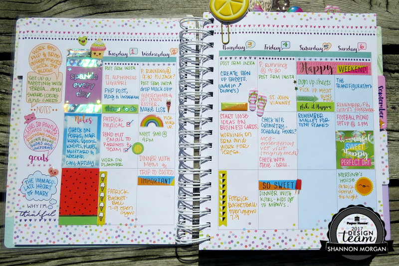 PHP Kawaii Planner Pages