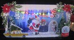Retro Christmas Shadowbox
