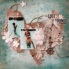 "12x12 Canvas ""Lost&Found"""