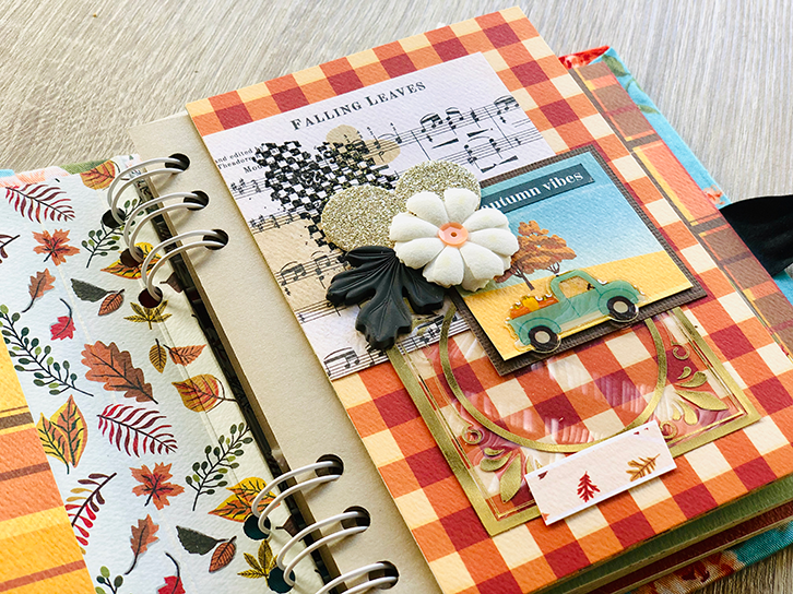 Mini envelope album 'Autumn'