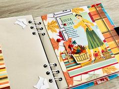 Mini envelope album 'Autumn'