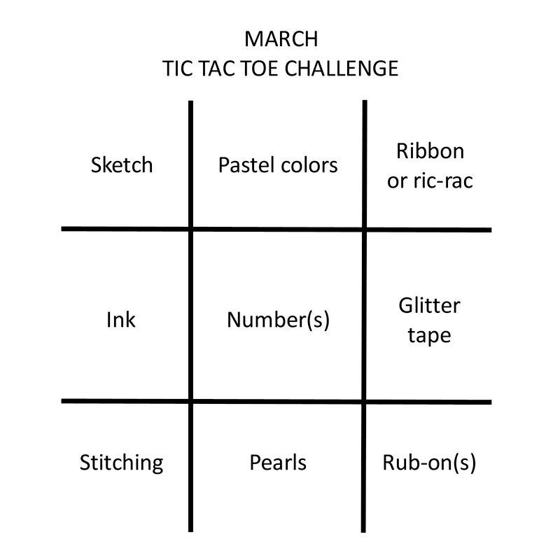 MARCH 2019 TIC TAC TOE BOARD