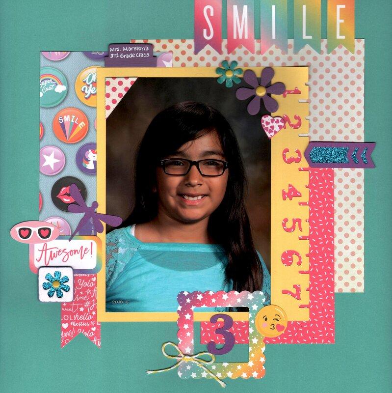 EMS - Brianna's 3rd Grade Portrait