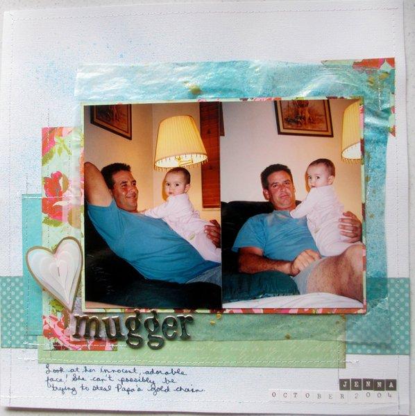 Mugger (wax paper layering for MB)