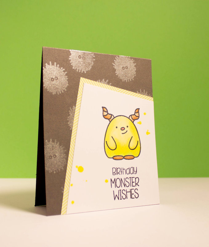 Birthday Monster Wishes - The Alley Way Stamps Oogles