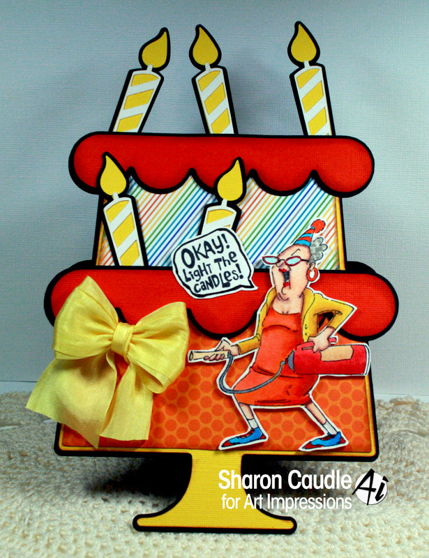 Art Impression Fire Out Birthday card