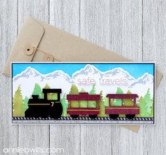 Bon Voyage Train Card