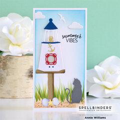 Summertime Mini Slimline Card