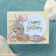 Beachy Birthday Card