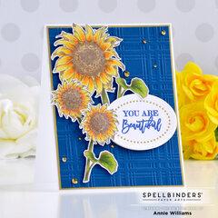 Beautiful Sunflower Card