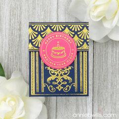 Foiled Gift Card Pocket