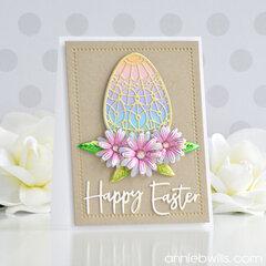 Bold Easter Egg Card