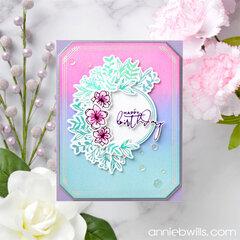 Pretty Foiled Birthday Card