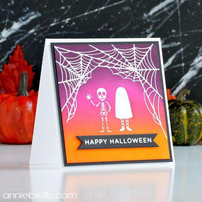 Fun Foiled Halloween Card