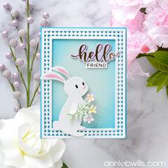 Springtime Bunny Card