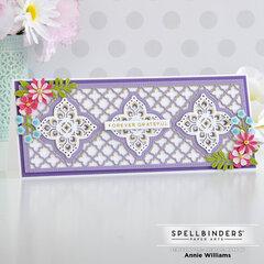 Cheery Slimline Thank You Card