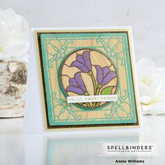 Wood Inlay Hello Card